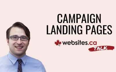 Build An Ad Campaign Landing Page – Websites.ca Talk Ep.8